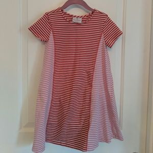 Hanna Andersson Tunic Dress Size 120  Striped